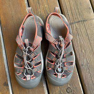 EUC Keen Gray Water Sandals - Women's 10.5 / EU 41